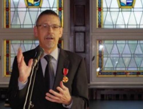 Bundesverdienstkreuz für Dieter Knoblich